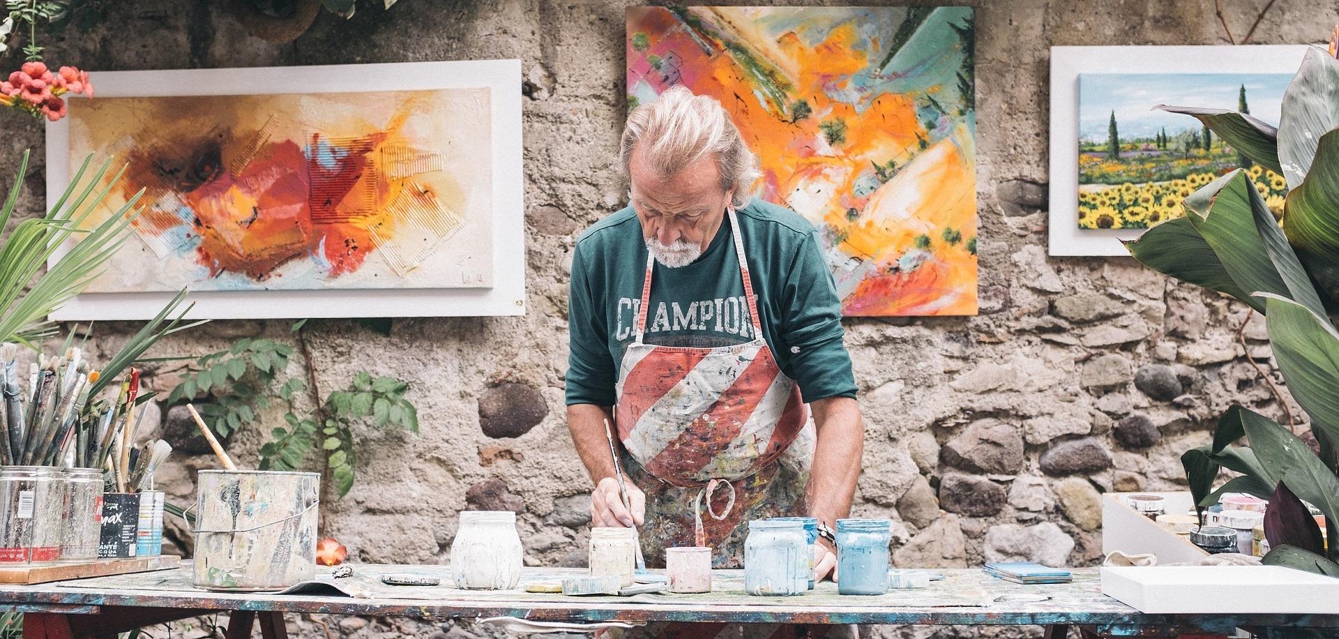 Older artist